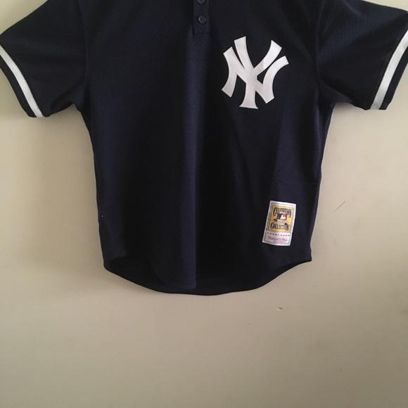 7cabc85c Mitchell & Ness Shirts | Mitchell Ness Yankees Jersey | Poshmark